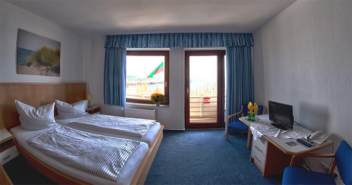 Hotel Haus am Meer Helgoland Gästezimmer