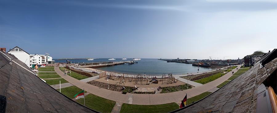 Hotel Haus am Meer Helgoland Sicht auf See